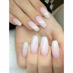 Nice and natural pink colour ballerina length