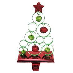 Bell Tree Stocking Holder 8.5-in