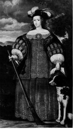 Retrato de mujer en traje de caza Colección Duque de Almazán (Madrid