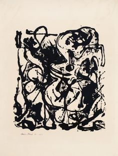 Jackson PollockDrawing for Number 19 1951