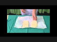 Colocación de guantes estériles VIP Enfermeria