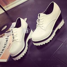 Women's+Shoes+Korean+Style+Dunk+Low+Wedge+Heel+Wedges+/+Round+Toe+Fashion+Sneakers+Outdoor+/+Casual+-+GBP+£15.57+!+HOT+Product!+A+hot+product+at+an+incredible+low+price+is+now+on+sale!+Come+check+it+out+along+with+other+items+like+this.+Get+great+discounts,+earn+Rewards+and+much+more+each+time+you+shop+with+us!