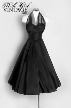 classic movie gowns 1950 | 1950's Evening Dress lovely!!