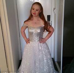 Madeline Stuart, an Australian model with Down syndrome,  will be walking at New York Fashion Week this year