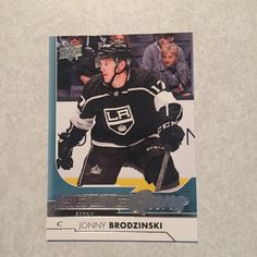 #Young Guns Jonny Brodzinski Los Angeles Kings $5.00 Free Shipping! Mercari Buy And Sell Things You Love! App is free to join. Use My Invite Code ZFHVSJ when signing up on Mercari App, You'll Automatically Receive $10.00 when using my invite code