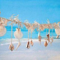 Seashell Crafts To Make | Do It 101 Beach Wedding Theme ideas , templates, tutorials, beach ...