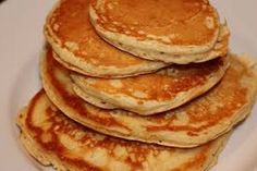 "BUTTERMILK PANCAKES ~ This recipe comes from mom, cooking instructor and ""real"" food advocate April Hamilton who writes, ""No need for a mix! Homemade pancakes are so easy."""