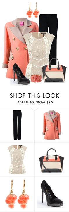 """""""Office Wear"""" by justbeccuz ❤ liked on Polyvore featuring STELLA McCARTNEY, Christian Lacroix, BCBGMAXAZRIA, David Aubrey, Yves Saint Laurent and Forever 21"""
