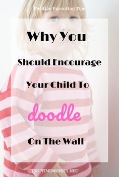 Does your child doodle on the wall? Do you get upset or angry at them? Read this article on why you should encourage your kids to doodle on the wall. Parenting Toddlers, Gentle Parenting, Kids And Parenting, Parenting Hacks, Happy Parents, Happy Kids, Toddler Behavior, Chores For Kids, Craft Activities For Kids