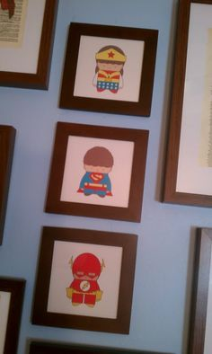 Baby super heroes from http://www.mintparcel.com/
