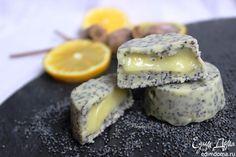 Маковые конфеты с лимонным курдом   Кулинарные рецепты от «Едим дома!»