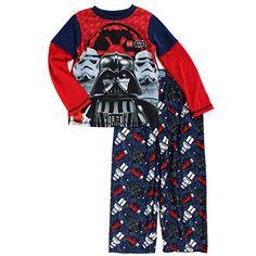 Star Wars 4pc Cotton Pajamas Boys Toddler Darth Vader Storm Trooper Pajamas