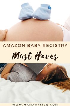 Are you lost about thing to put on baby registry? Amazon baby registry is a great and easy option but it can be overwhelming! Here's a post about the essential must haves on any baby registry.  Click and check out the top amazon baby registry items and how it works!