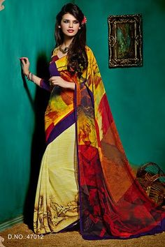 Fabulous Designer Saree with unstitched Blouse-364
