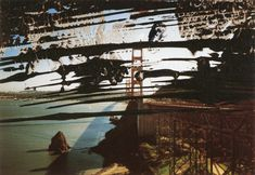 "Golden Gate, from ""OVERLY PAINTED PHOTOGRAPHS."" Plenty more at http://www.gerhard-richter.com/en/art/overpainted-photographs."