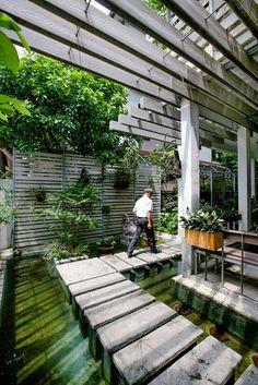 Quand la végétation est omniprésente dans un intérieur (4)