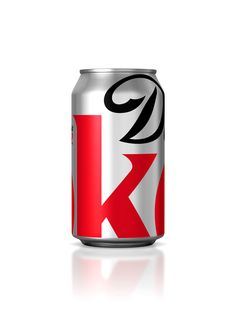 Diet Coke Can. Designed by Turner Duckworth.