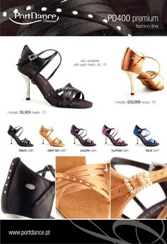 Zapatos de Baile: Stock Off for the model PD400 Portdance