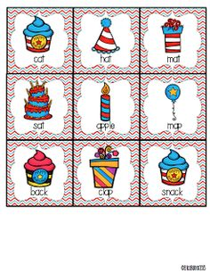 Classroom Freebies: Happy Birthday To Dr. You Know Who Freebie. Birthday Search, Read, & Write the Room