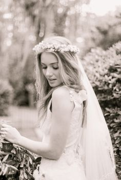 So I am kind of liking the idea of doing a flower crown and veil.. do you think that's too much?