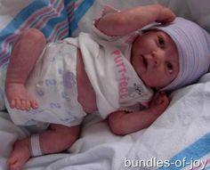 reborn preemie dolls | Details about Custom Made Reborn Doll Preemie Berenguer Bundles of Joy