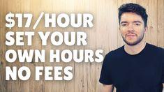 $17/Hour Flexible Work-From-Home Jobs No Experience No Fees 2021 Work From Home Careers, Flexible Working, Flexibility, Mens Tops, T Shirt, Supreme T Shirt, Tee Shirt, Back Walkover, Tee