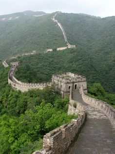 Great Wall of China, Beijing, China — by Scuba Mami. #desktop The Great Wall of China. You won't be able to believe what's it's like until you see it yourself. It took my...