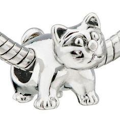 Pandora charms i like: Cat Pandora Charm