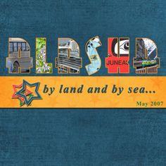 alaska scrapbooking pages   Alaska Album - Title Page - Digital Scrapbook Place Gallery
