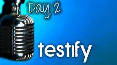 March 5th - Week 10 Day 2 - Testimony