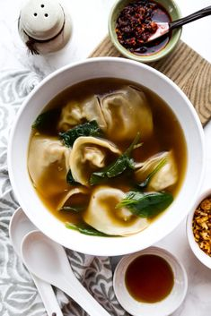 Easy Homemade Wonton Soup (馄饨汤) | Pickled Plum Food And Drinks