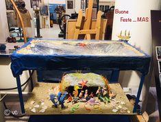 Presepe subacqueo al MAS Pinball, Poker Table, Ravenna, Decor, Museum, Decoration, Decorating, Deco