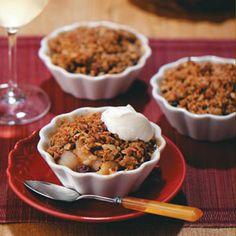 fall fruit crisp recipe