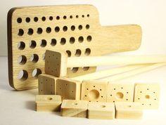 Tricot de Viking Viking Knit dessiner Plate Kit, kit, kit de fabrication chaîne bricolage bois, optionnel de l