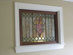 Here at The Glass Tulip we have been very busy again with another gorgeous antique stained glass window install. This 120 year old restored Art Nouveau interior window depends solely on the light from the foyer window. And so,the quest for old house soul continues.... on to the next project... :)