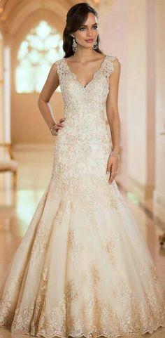 Un vestido para parecer princesa ese gran día