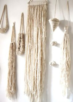 Calico Jewelry by Hazel Terry, via Behance Textile Jewelry, Fabric Jewelry, Jewelry Art, Art Fibres Textiles, Textile Fiber Art, Weaving Wall Hanging, Wall Hangings, Passementerie, Paperclay