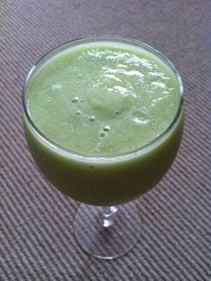 Cucumber Lime Smoothie from Toadally Primal Smoothies