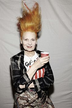 fashion portrait Vivienne Westwood
