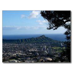 USA - Hawaii - The Diamond Head From Tantalus