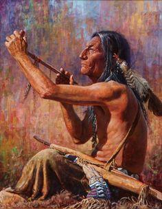 Offering - Martin Grelle #native #art