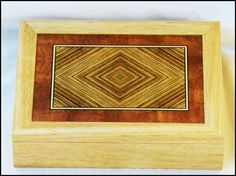 zebra wood box | Marquetry Box | Zebra Wood