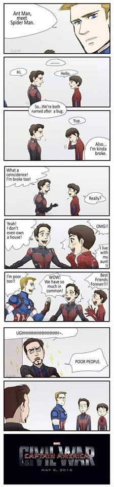 How Civil War really started... Featuring Spiderman and Ant Man.