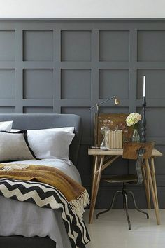 Lovely Masculine Bedroom Tips And Inspirations Decor, Modern Bedroom, Bedroom Interior, Bedroom Design, Victorian Bedroom, Interior Design Bedroom, Bedroom Decor, Interior Design, Colorful Interiors