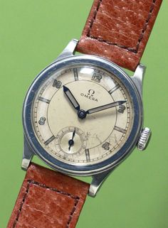 OMEGA Cal.26.5SOB C 1930'S #omega #vintageomega #vintagewatch #patina #horology #horolin