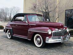 1948 Mercury 8 Convertible.