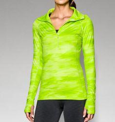 Women's UA ColdGear® Cozy Printed 1/2 Zip