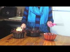 http://michellescountrycorner.com  In this video we are doing a makeover of some jello molds I picked up at the thrift store. We added a fresh coat of black paint to each one along with some berry vine. The berry vine has some rustic stars intertw...
