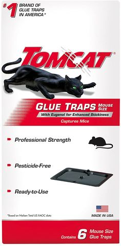 Tomcat Mouse Glue Trap W/Eugenol Rat Mouse Bait Rodent Poison Traps 6 Bloc Mouse Glue Trap, Mouse Bait, Rat Mouse, Mice Mouse, Mice Control, Pest Control, Bed Bug Trap, Glue Traps, Rat Traps