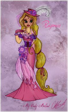 Southern Belle Rapunzel